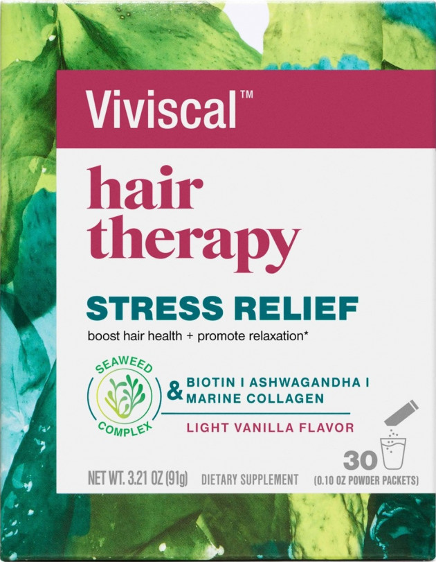 Viviscal Hair Therapy Stress Relief