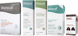 Viviscal hair vitamins and hair care for men