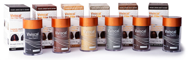 Viviscal Hair Filler Fibers Product Box