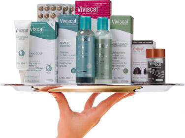 Viviscal Packages Platter