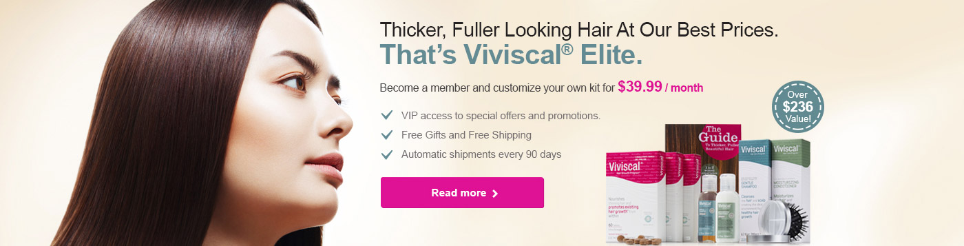 Click here for Viviscal Elite