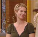 Cynthia Nixon uses Viviscal to grow hair