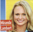 Miranda Lambert protects overstyled hair with Viviscal vitamins